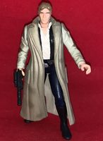 Star Wars Power of the Force: Han Solo In Endor Gear - Complete Loose Action Figure